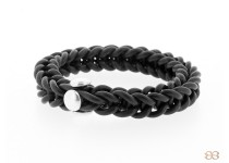 cheeky loom bracelet black